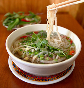 a yummy bowl of my most favourite dish in the world - pho!