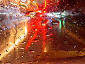 copyright: Rick Doble - rain on my windscreen