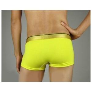 men's yellow underwear