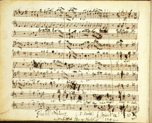 Handel's Messiah. Pic: The British Library