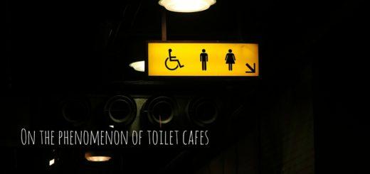 On the phenomenon of toilet cafes