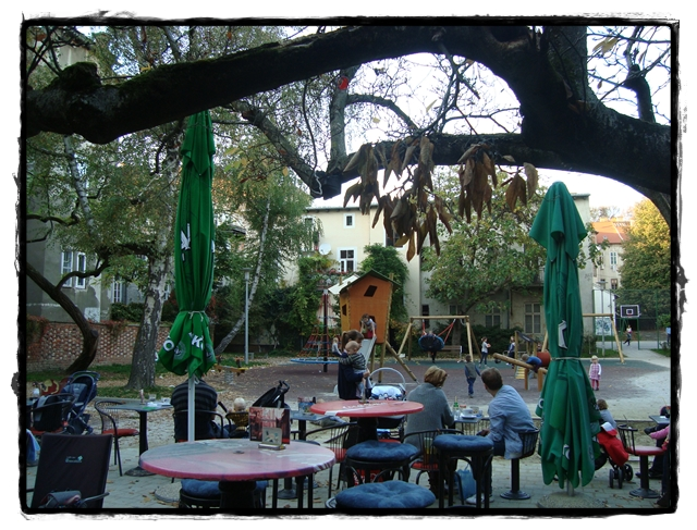 The bar in the playground