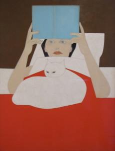 Will Barnet - Woman Reading