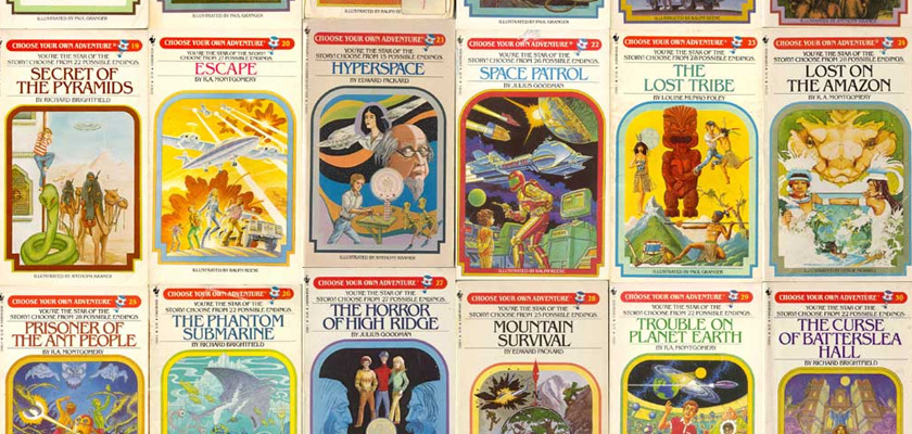 Choose Your Own Adventure cover images